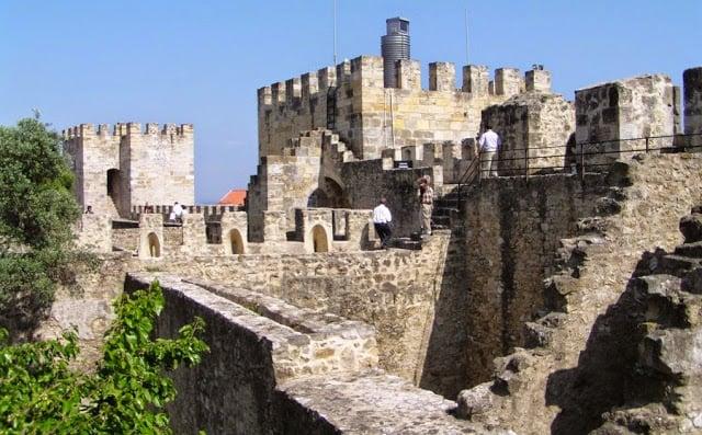Castelo de São Jorge em Lisboa