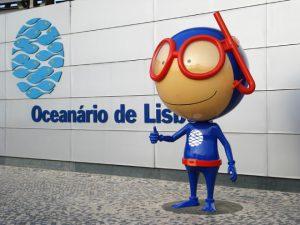 Mascote do Oceanário de Lisboa- Vasco