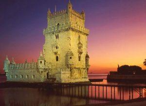 Torre de Belém ao entardecer