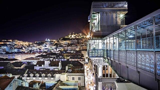 Elevador Santa Justa Em Lisboa Dicas De Lisboa