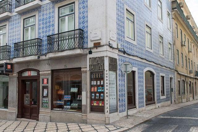 Livraria Bertrand no Chiado