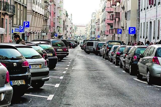 Estacionamento em Lisboa