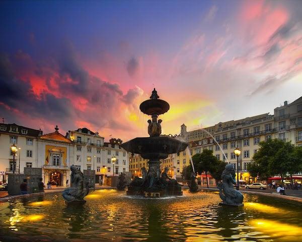 Lua de mel em Lisboa