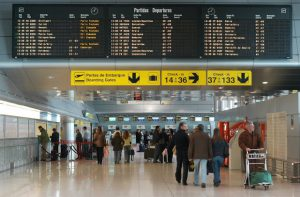 Aeroporto de Lisboa em Portugal