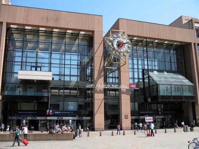 Estação Part Dieu de Lyon