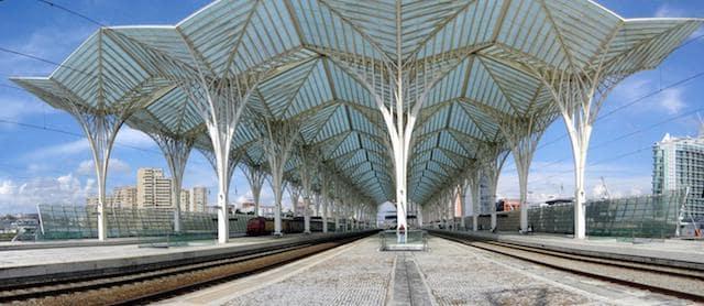 Viagem de trem de Lisboa a Salamanca