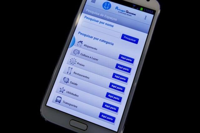 App Portugal Acessível Mobile