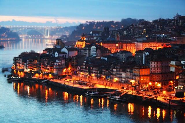 Rio Douro no Porto