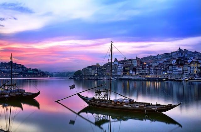 Pontos turísticos em Porto