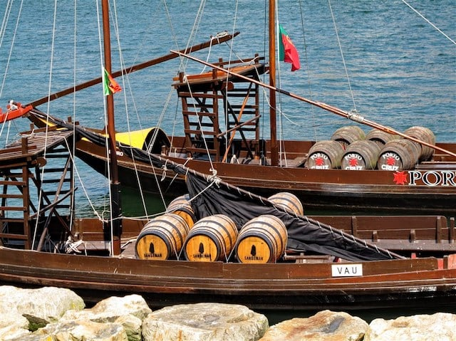 Barco Rabelo no Porto