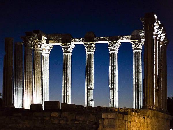 Informações do Templo de Diana