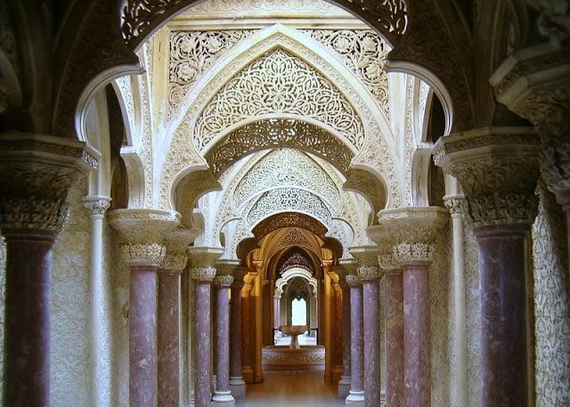 Arquitetura do Palácio de Monserrate