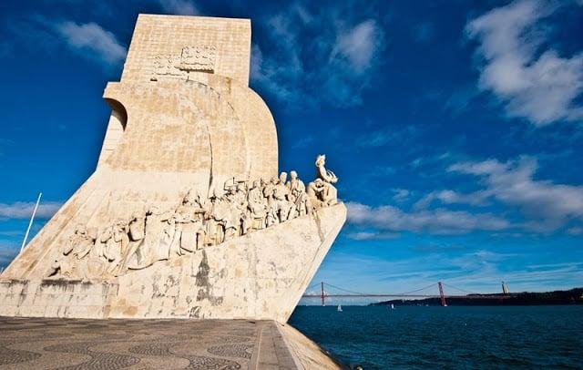 Monumento aos Descobrimentos em Lisboa