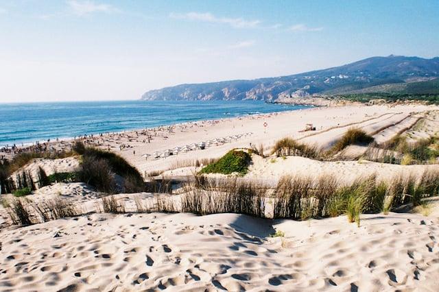 Praia do Guincho em Cascais (Lisboa)
