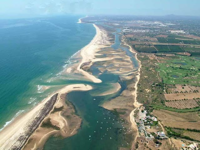 Ria Formosa no Algarve