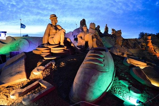 Esculturas em Areia no Algarve