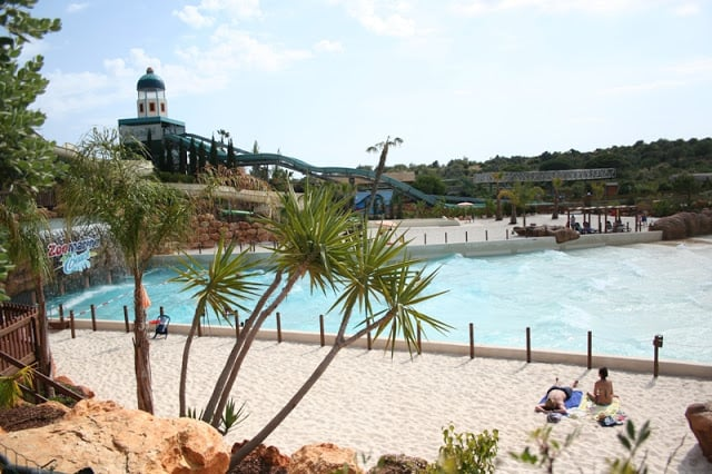 Zoomarine Beach no Algarve