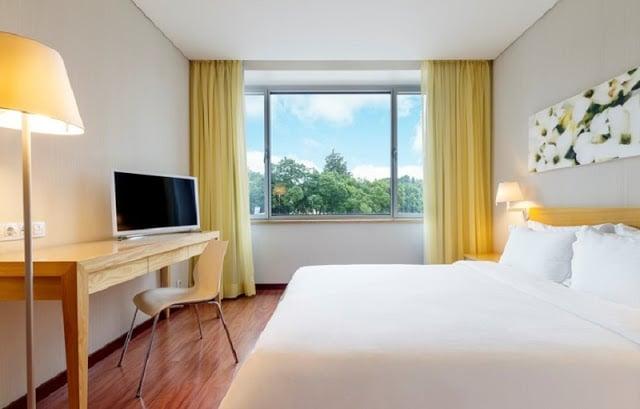 Hotel Fénix Garden em Lisboa - quarto
