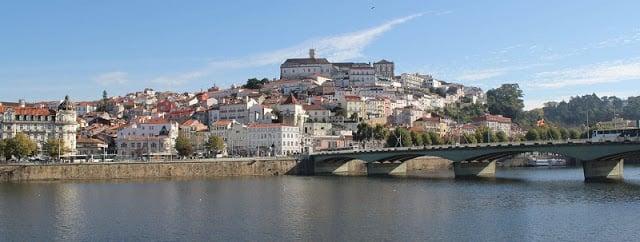 Rio Mondego em Coimbra