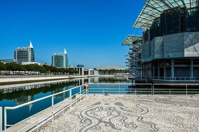 Oceanário de Lisboa no Parque das Nações