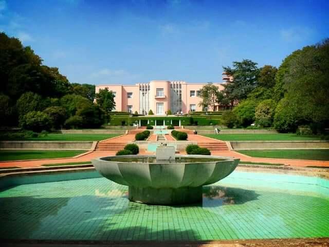 Jardim e Casa de Serralves no Porto