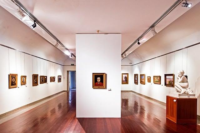 Interior do Museu Soares dos Reis no Porto