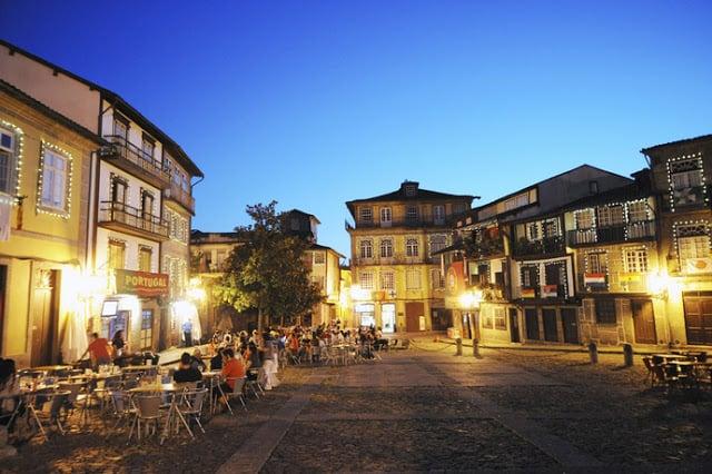 Vida noturna em Guimarães