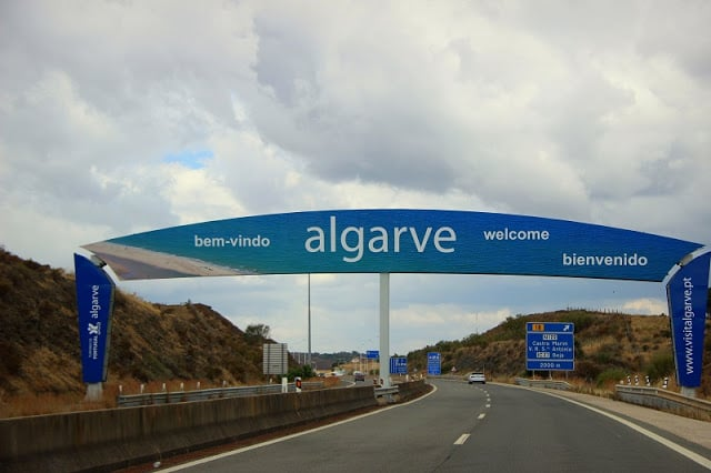Entrada no algarve