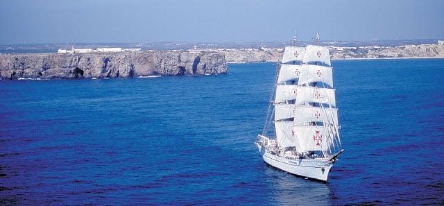 Barco em Sagres