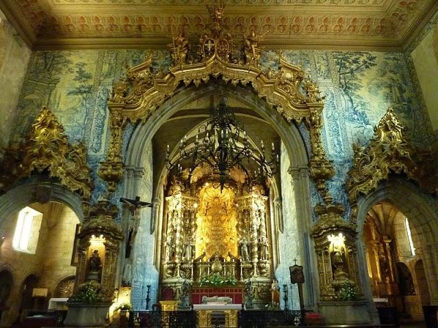 Altar-mor da Igreja de São Francisco em Guimarães