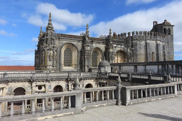 Convento da Ordem de Cristo em Tomar em Portugal