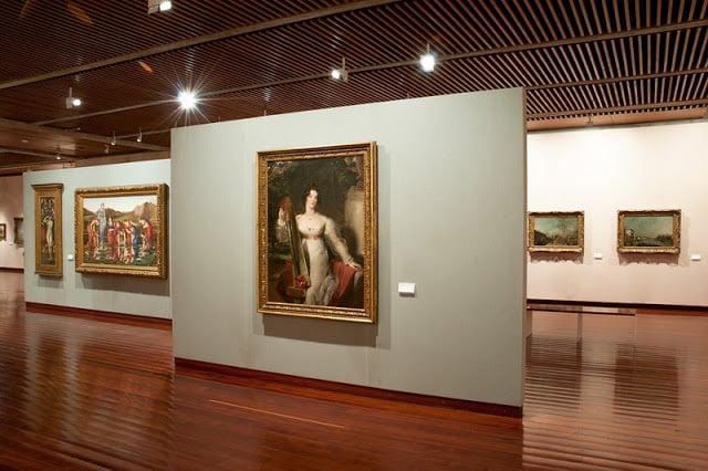 Coleção de pinturas do Museu Calouste em Lisboa
