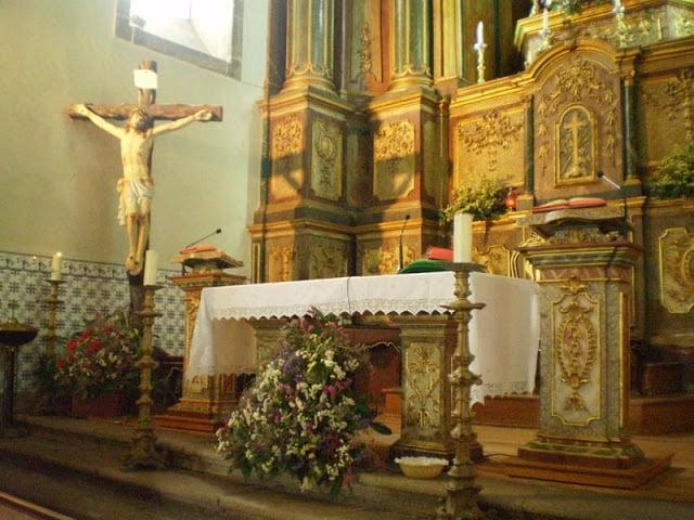 Altar da Igreja da Nossa Senhora da Consolação em Guimarães