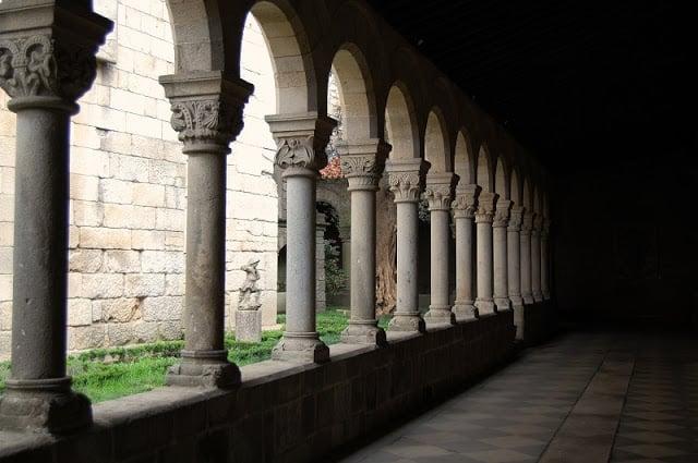 Claustro do Museu Alberto Sampaio em Guimarães