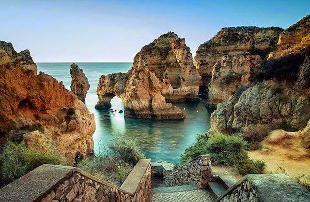 Cidade de Lagos no Algarve