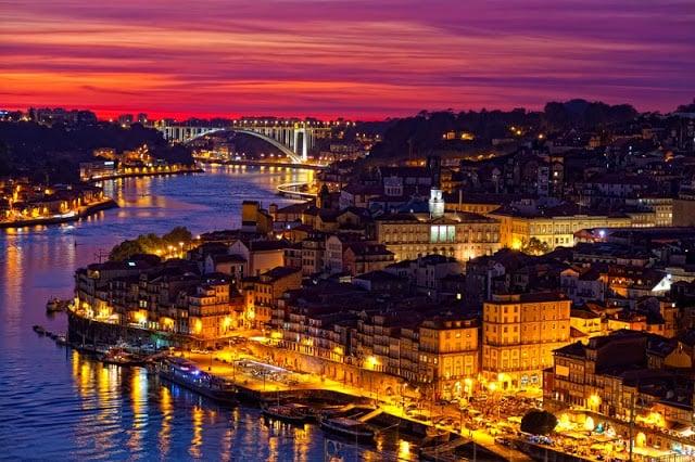 Horário de verão no Porto - dia mais longo