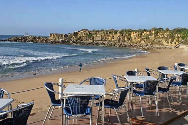 Restaurantes na Praia de São Pedro do Estoril