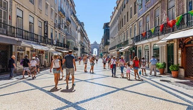 Compras em Lisboa - Rua Augusta