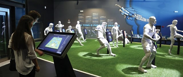 Parte interativa do Museu FC Porto