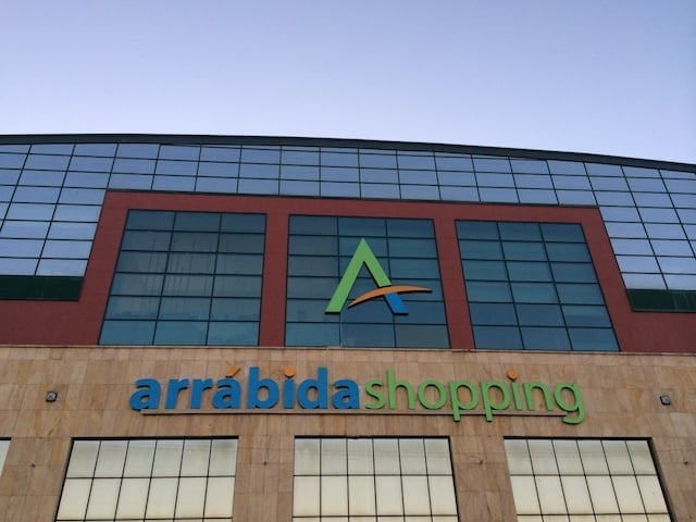 Arrábida Shopping no Porto