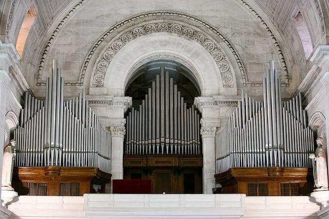 Órgão da Basílica da Nossa Senhora do Rosário