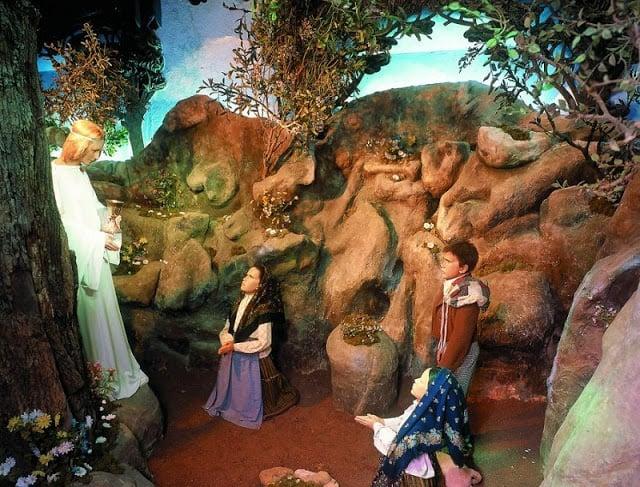 Cenas do Museu de Cera de Fátima