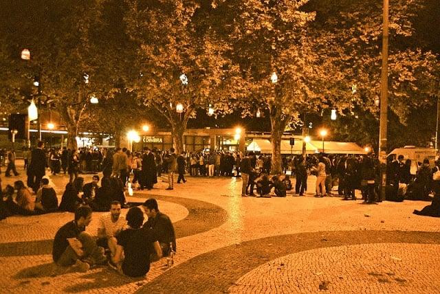 Praça da República em Coimbra