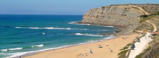 Praia Azul no Porto em Portugal