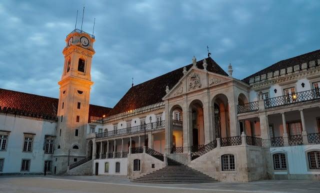 Região da Universidade em Coimbra