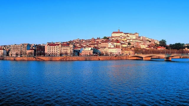 Mapa turístico de Coimbra