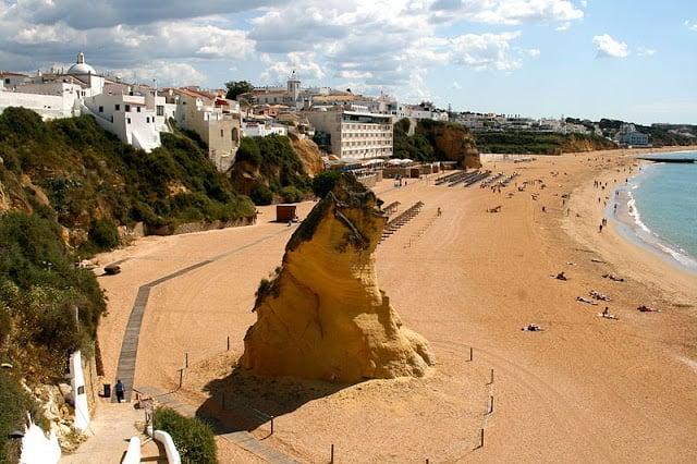 Praia do Túnel em Albufeira