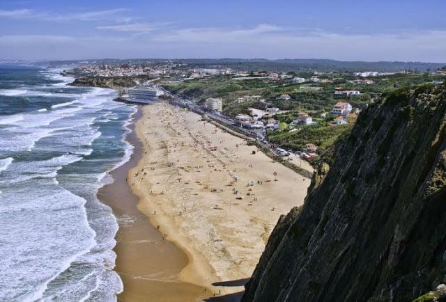 Praia Grande em Sintra
