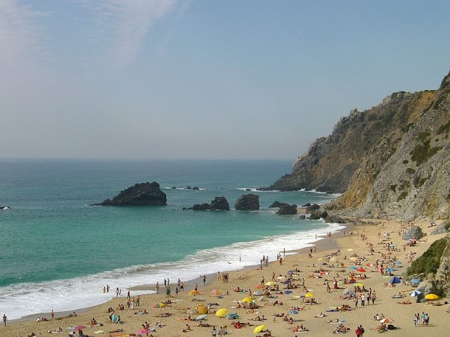 Praia da Adraga em Sintra