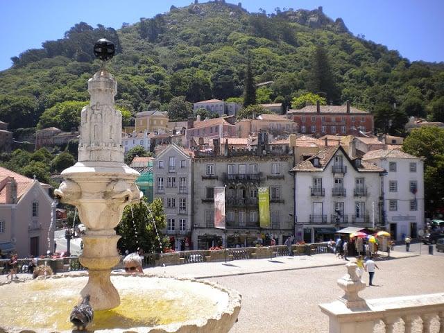 Passeio pelo centro histórico de Sintra